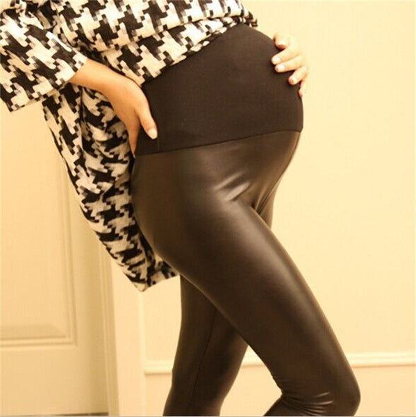 Women PU Leather Pants - Idiyka.com