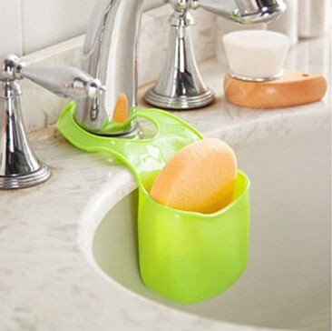 1 PCS/lot Sponge storage Rack Over The Sink Saddle Organizer Shelf - Idiyka.com