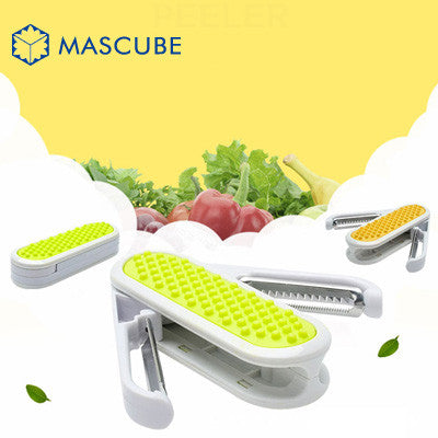 Multifunction Stainless Fruit Slicer Cutter - Idiyka.com