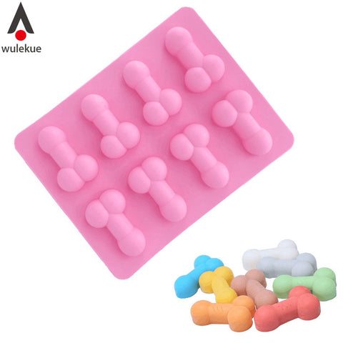 Silicone Dick Ice Cube  Cake Mold