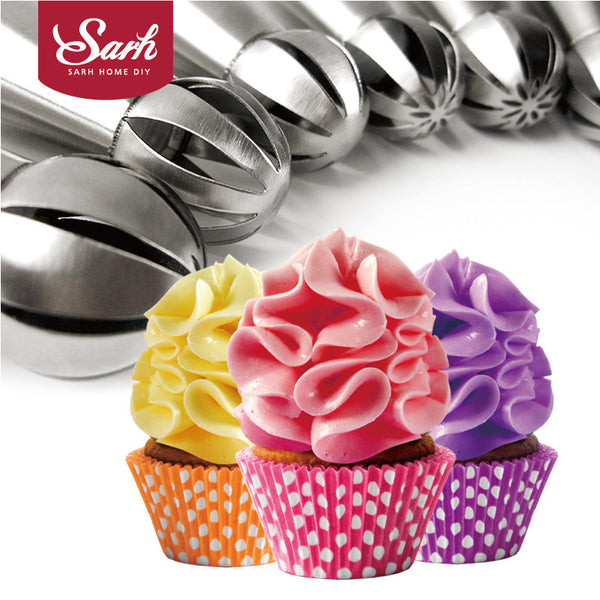 7pcs/lot Metal Stainless Steel Frame Professional Cake Decorators - Idiyka.com