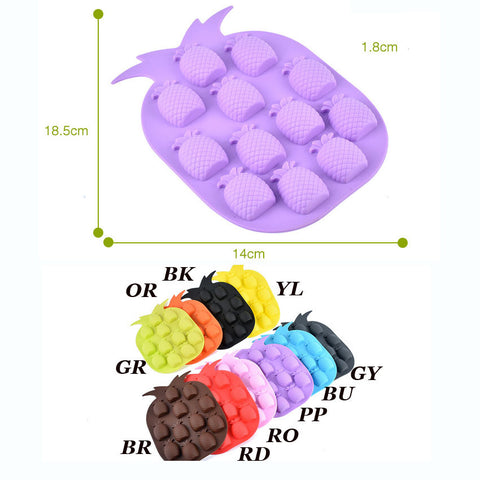 Cute Fishes Silicone Cake Cooking Molds