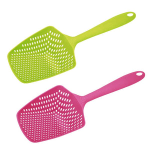 1pc  Scoop Colander Nylon Spoon Strainer - Idiyka.com