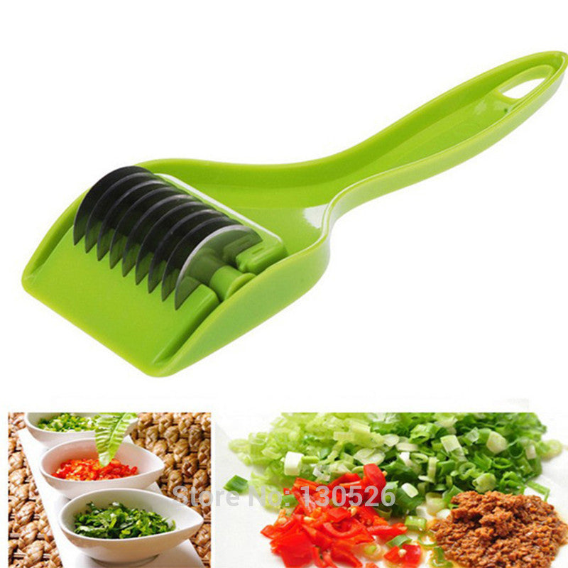 Stainless Steel Blade Green Onion  Garlic - Idiyka.com