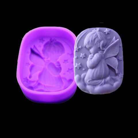 Angel Girl Natural Soap Handmade Soap Mold Silicone Cake