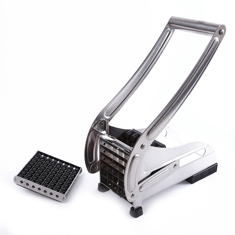 Stainless Steel French Fry Potato Vegetable Cutter - Idiyka.com