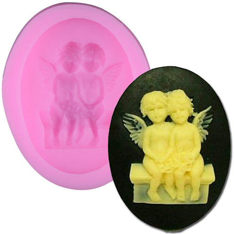 Silicone Mold Fondant Cake Decorating