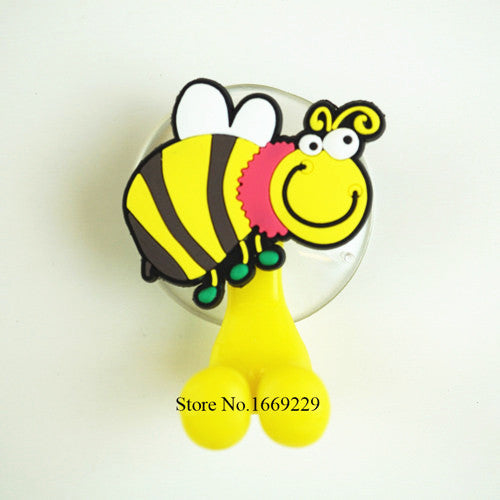 Multi-functional   Cartoon  Animal suction cup Toothbrush Holder - Idiyka.com