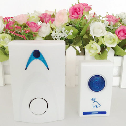 1Pc LED Chime Door Bell Doorbell  Remote control 32 Tune Songs C1 100M - Idiyka.com