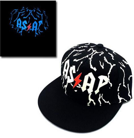 Baseball Cap Hip Hop Fluorescent Light Luminous - Idiyka.com