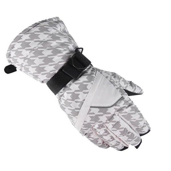 Waterproof Anti-Cold Warm Sportswear Skiing Gloves AU0103 Idiyka