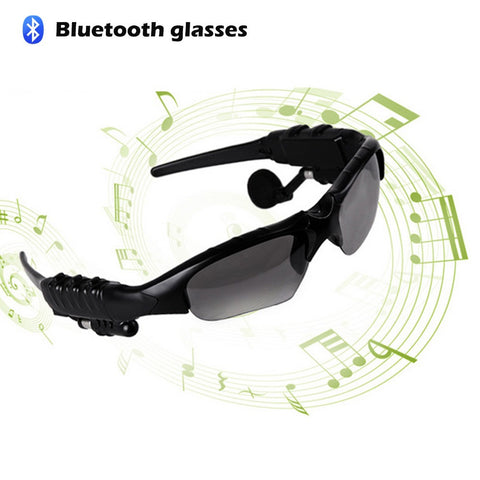 Bluetooth Sunglasses Headset Outdoor  Earbuds Music Stereo Wireless Headphone - Idiyka.com