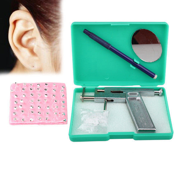 Professional Painless Ear Body Pierce and 98 free Silver Studs - Idiyka.com