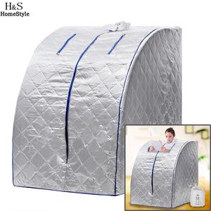 Family Sauna Steam Box Skin SPA Portable Steam Sauna Tent Steamer Slim Weight Loss - Idiyka.com