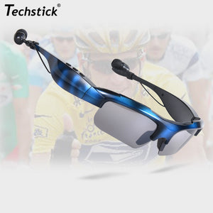 Bluetooth V4.1 Stereo Wireless Headphone Music Driving Sunglasses Camera - Idiyka.com
