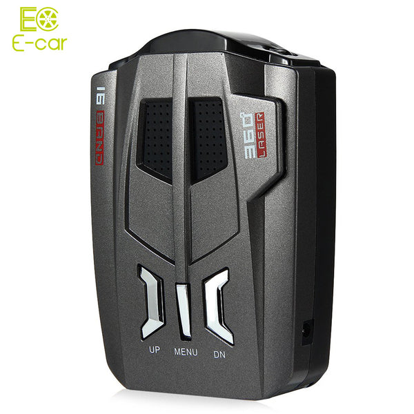 V9 12V Car Radar Detector English /Russian Voice LED Display - Idiyka.com