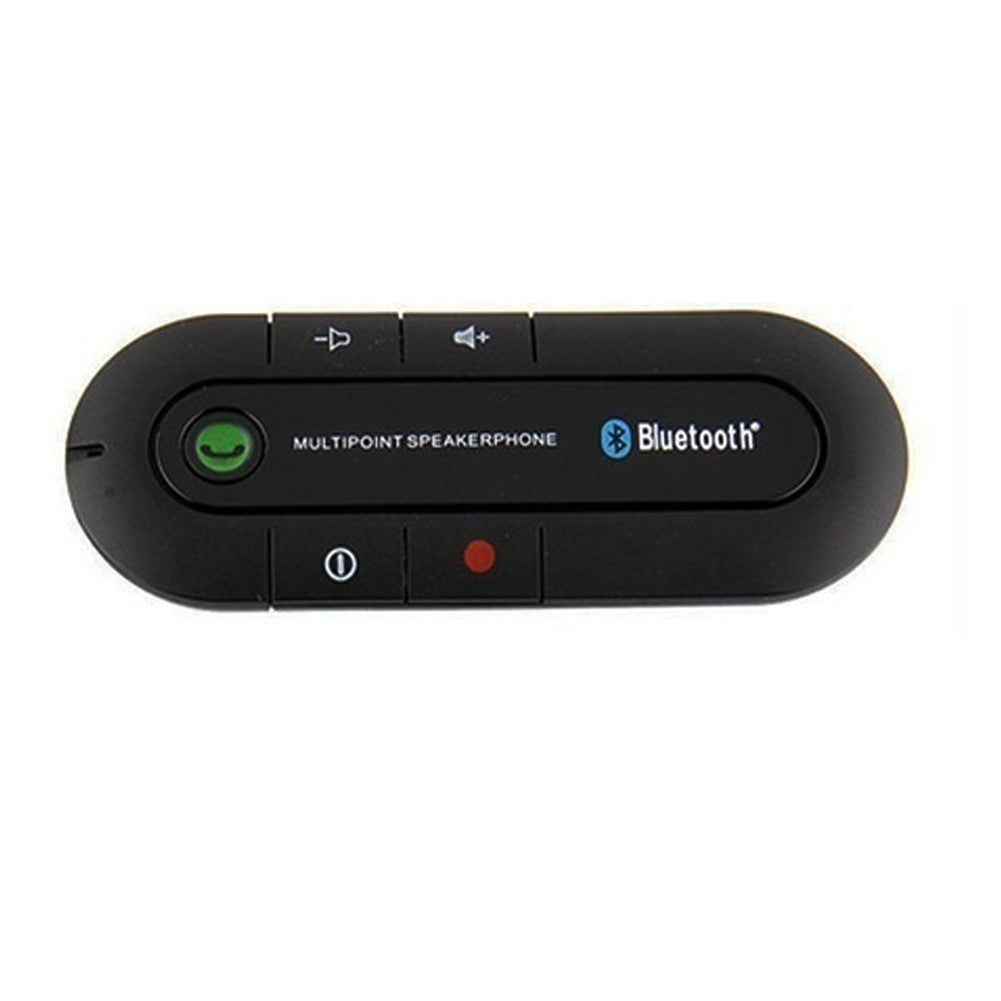 Bluetooth Slim Magnetic Car Kit Speaker Phone Visor Clip 3Color - Idiyka.com