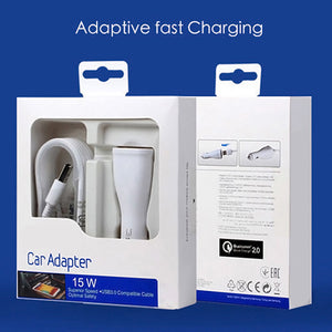 Samsung EDGE note 4/S6 car adapter charger 15W - Idiyka.com
