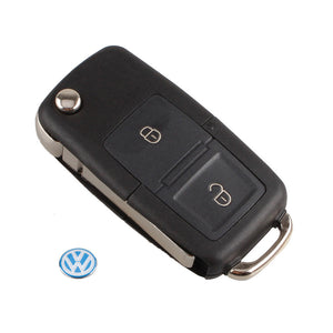 Car Flip Remote Key Replacement Case FOB Shell For Vw VOLKSWAGEN MK4 - Idiyka.com