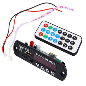 Bluetooth 12V MP3 WMA Decoder Board Audio Module TF USB Radio for Car - Idiyka.com