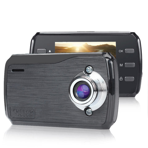 1080P HD CAR DVR G-sensor IR Night Vision Vehicle Video Camera Idiyka