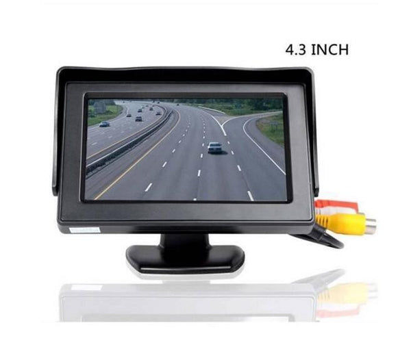 "4.3"" Foldable LCD  Rearview 4.3"" Parking System Car Monitors Video Players - Idiyka.com"