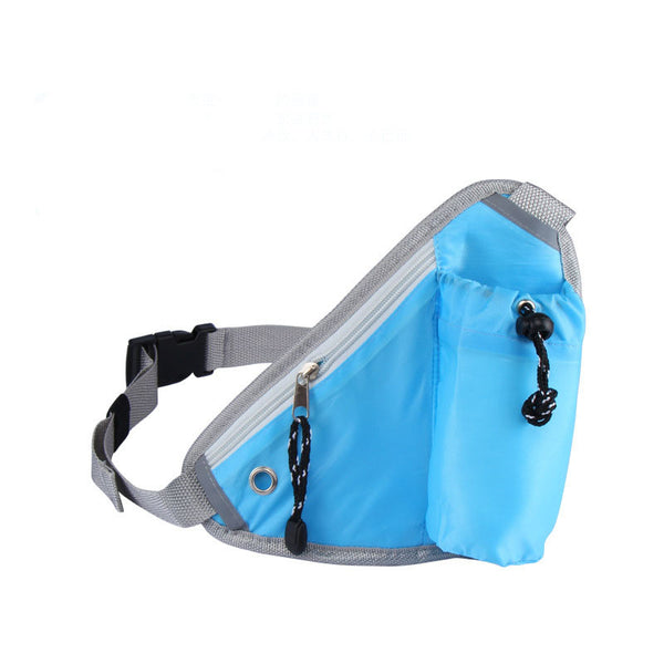 Hiking Cycling Running Belt Water Bottle Waist Bag Idiyka