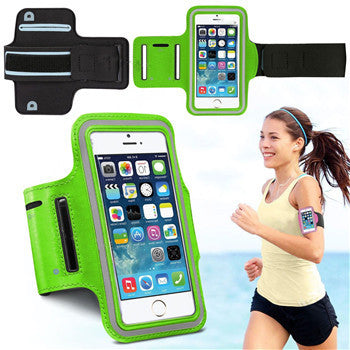 Cover for iPhone 6 Gym Arm Band Nylon Case For iphone 5 5S 6 6S - Idiyka.com