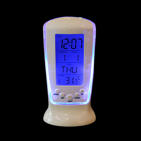 Temperature Detecting  Desk Bedside Safe Led Digital Clock WDN0001 RT8-13