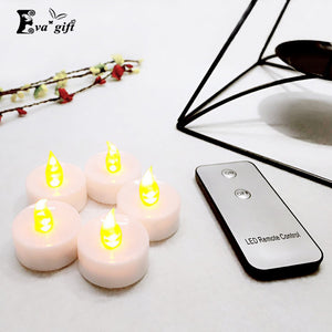 Flash night light tea lamp/Romantic remote control led candle - Idiyka.com