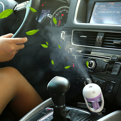 Car Air Freshener Steam Humidifier Essential Aromatherapy - Idiyka.com