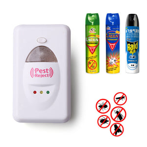 100% Effective Safe Repels Rats Cockroaches Control Pest Repeller - Idiyka.com
