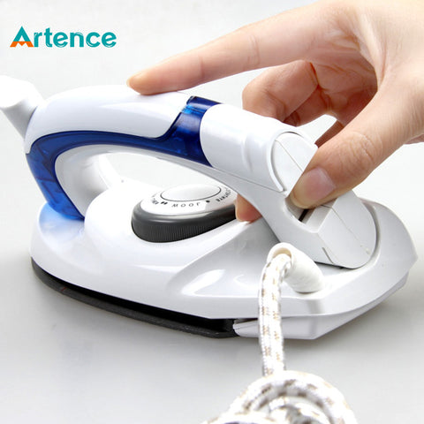 Mini  Steam Iron For Clothes With 3 Gears Teflon