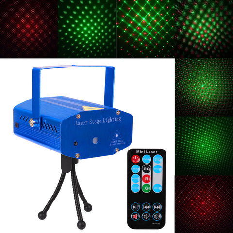 DJ Club Disco Projector Stage Laser Light Auto strobe, Sound/Voice - Idiyka.com