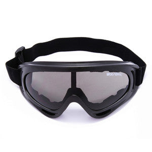 Black Motorcycle Cycling Bicycle Bike ATV  Ski Snowboard Off-road Goggles Sports - Idiyka.com