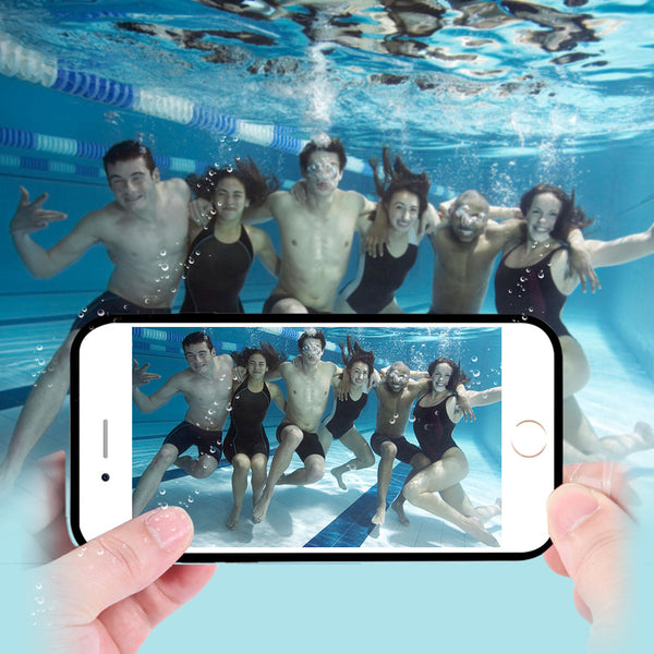 Waterproof Case For iPhone 6 6S / iphone 6plus 6splus Candy Soft TPU Sport Idiyka