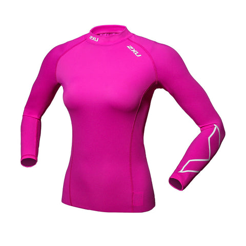 2XU Tight T- Shirt  Long-Sleeved Compression Women  UV - Idiyka.com
