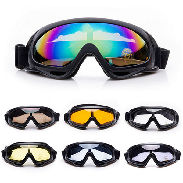 Winter Snow Sports Skiing Snowboard Anti-fog Goggles Windproof UV400 Idiyka