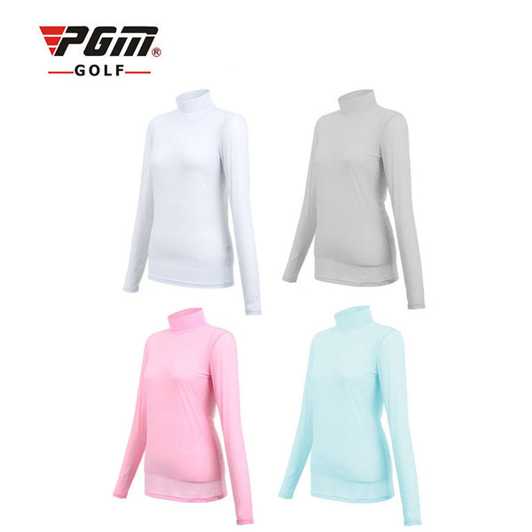 Golf Sunscreen UV Ice T-shirts Long Sleeve Clothes for women Idiyka