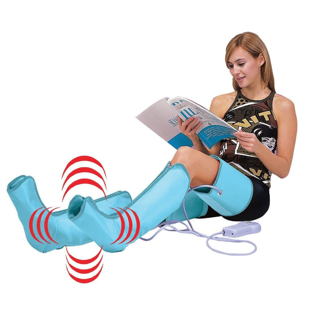 Circulation  Wraps Healthcare Air Compression Leg Foot Massager 110V/220V - Idiyka.com