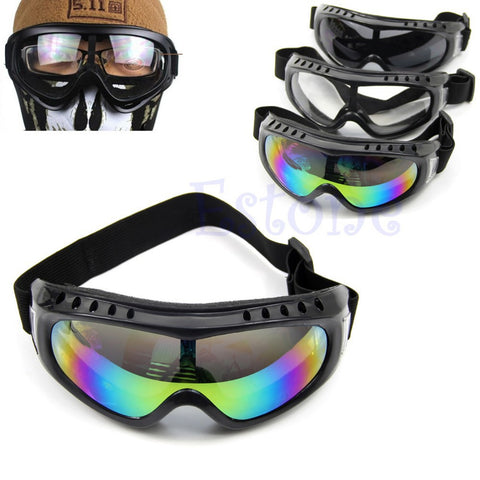 Coated Safety Skiing Goggles Outdoor Sport Dustproof Sunglass Idiyka