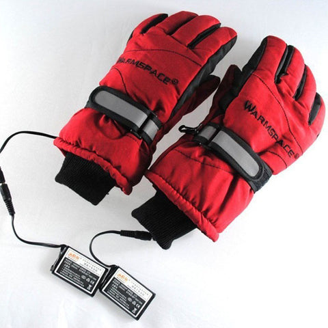 3.7V/2000MAH Electric Ski Lithium Battery Self Heated Gloves,Warm 3 hours Idiyka