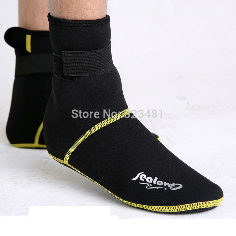 Diving Socks 3mm Thick neoprene scuba snorkeling boots wetsuit - Idiyka.com