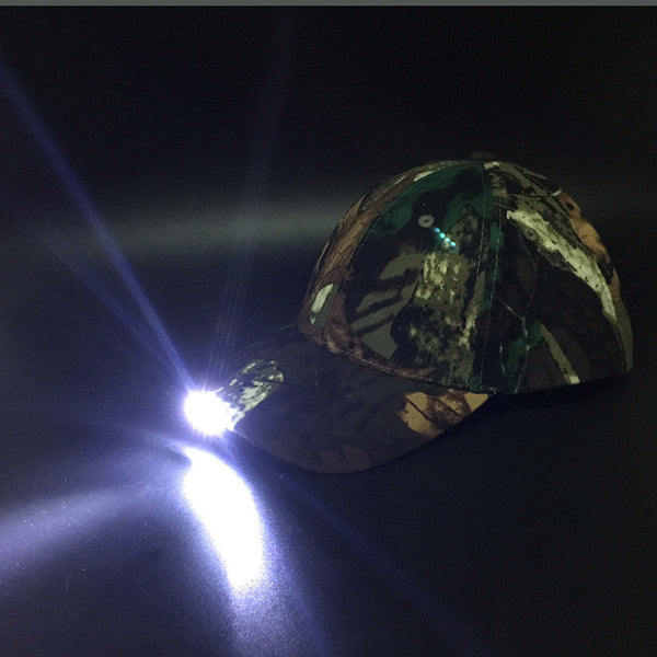 Night Fishing Caps With LED Lamp Idiyka