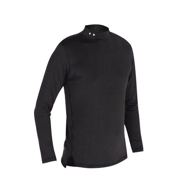 Men long-sleeve golf basic shirt stretch tights cotton Idiyka