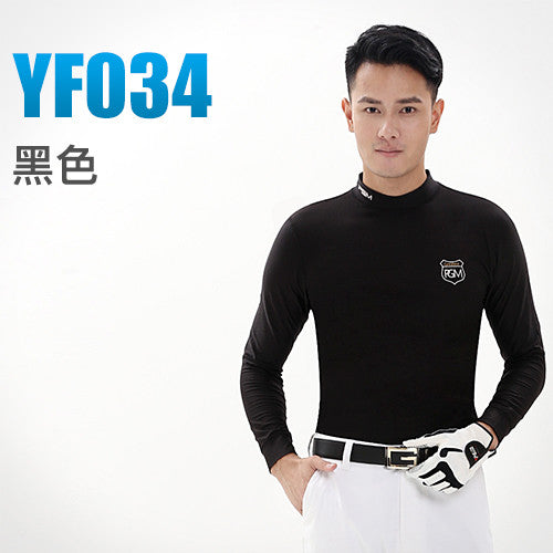 Men's Golf Long-sleeve T-shirt Elastic Idiyka
