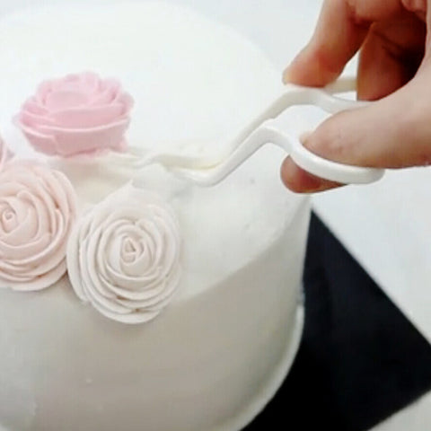 Plastic Scissor Fondant DIY Decor Flower Lifter Cake