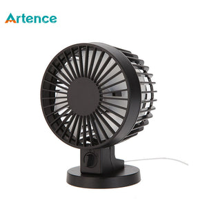 Mini USB  ABS Electric Desktop Computer Fan With Double Side - Idiyka.com