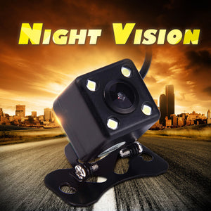 IP67 Waterproof Rear View Camera Wide Angle Car Back Reverse  RCA Night Vision - Idiyka.com