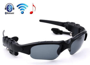 Earphone Wireless Headphone Blue tooth Stereo Music Phone Call Sunglasses - Idiyka.com
